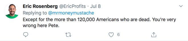 Mr Money Mustache Tweet 4